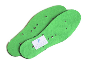 High Powered Magnetic Insoles